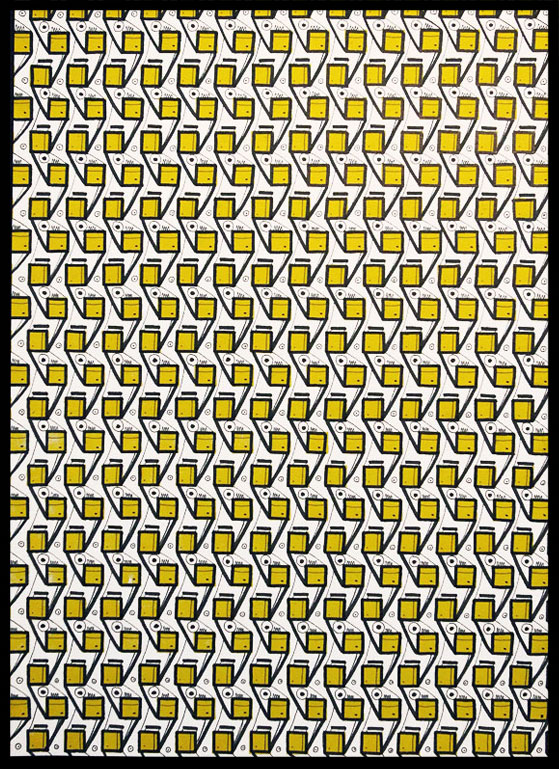 OKOK_PatternOnScreenPrintPaper001 | HLdaily.com – the